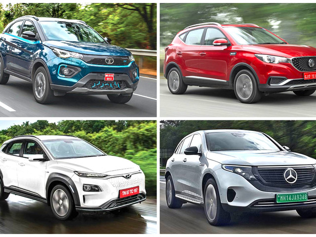 Electric cars, SUVs currently on sale in India in 2021