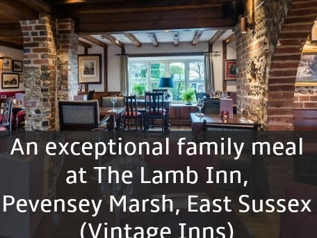 Review: Dining at The Lamb Inn, Pevensey Marsh, East Sussex