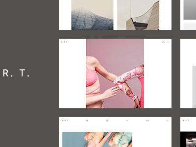 Art. Simple & Clean WordPress Theme for Creatives (Portfolio)