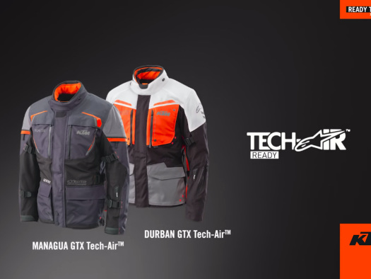 Why Should Cars Have All the Fun? KTM Makes PowerWear Compatible with Alpinestars' Tech-Air™ Street Airbag System