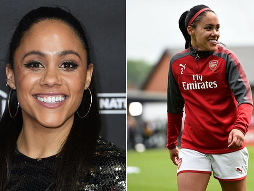 Former Arsenal Women's captain Alex Scott reveals she used to earn just £100 per match