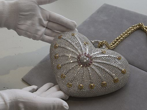 World's most expensive handbag goes up for sale