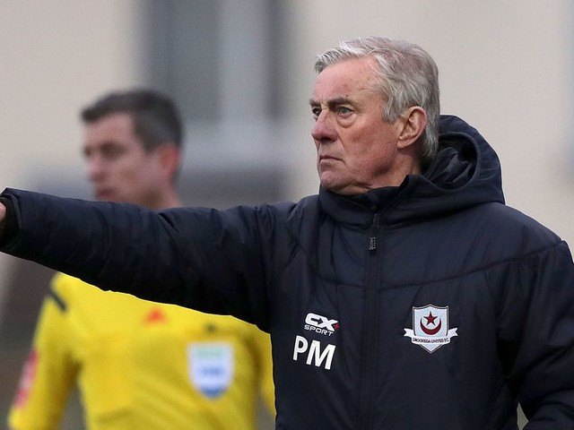 Pete Mahon fearing he won't get happy managerial swansong after leaving relegated Drogheda United