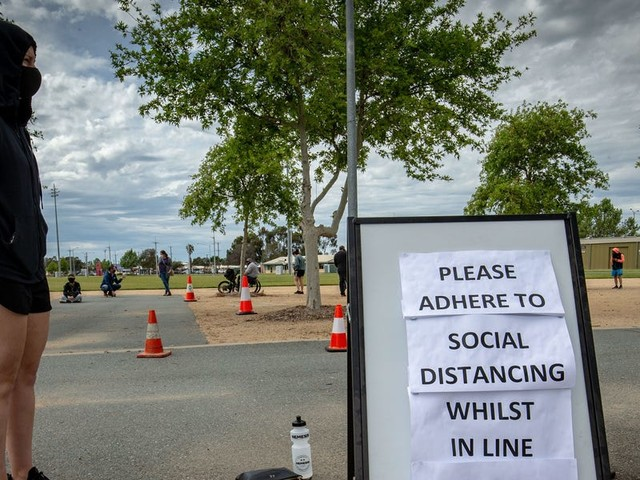Australia's extreme lockdown brought coronavirus cases in its epicenter to zero. It may also have prevented a third wave.