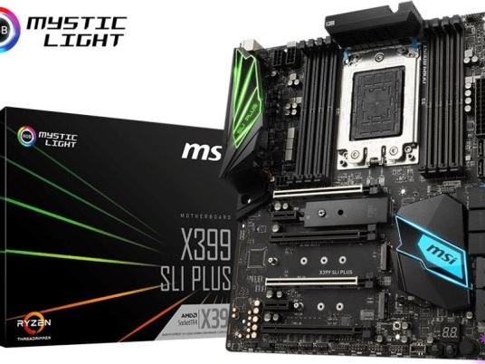 MSI Announces the X399 SLI Plus: Budget Threadripper