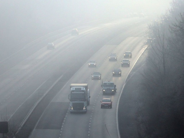 Dense fog warnings in place ahead of UK's bank holiday heatwave
