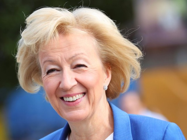 Andrea Leadsom on a Tory party leadership bid: 'Anything can happen'