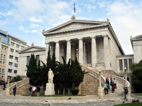 New chapter: a landmark move for Greece's national library