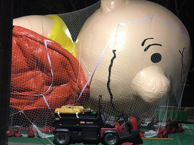 The Macys Parade Prep Looks Like A Sadistic Collection Of Gentle Giants