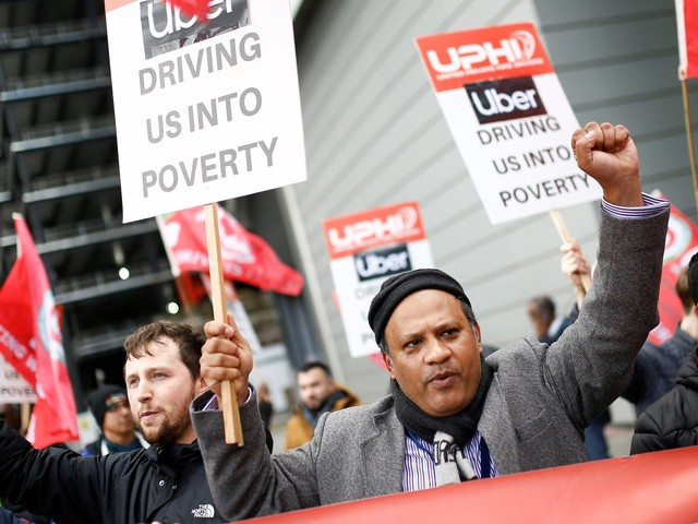 The Uber strike should worry investors and the company because it points to a fundamental problem with its business model (LYFT)