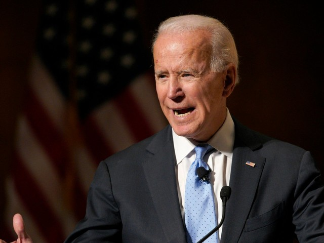 Trump is reportedly spooked by Joe Biden's strong showing in early 2020 polls, but aides are reassuring the president that he's not progressive enough for the Democratic base