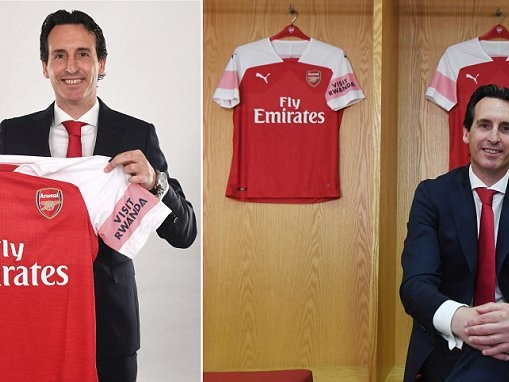 New Arsenal boss Unai Emery thanks Arsene Wenger in his opening press conference
