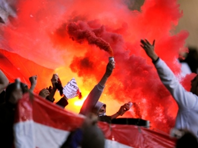 'A first and a last' - Ligue 2 game halted after homophobic chants