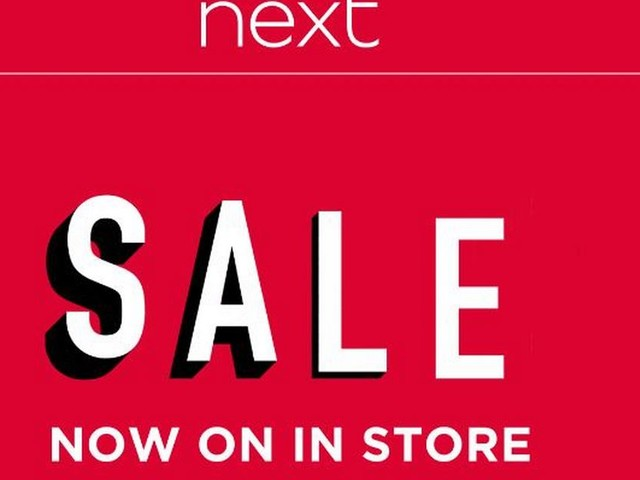 Next launches in-store sale with bargains less than half-price