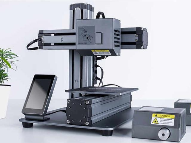 Snapmaker 3D Printer Passes $1.3 Million in Funding Via Kickstarter (video)