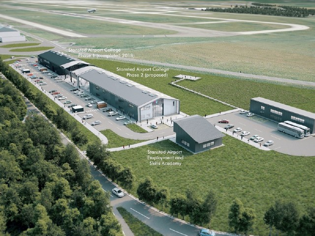 Stansted Airport College builds on successful first year by exploring plans for the UK's first aviation education and skills campus