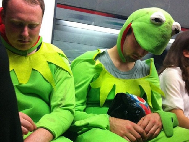 In Photos: The Best Fancy Dress Spotted On The Tube