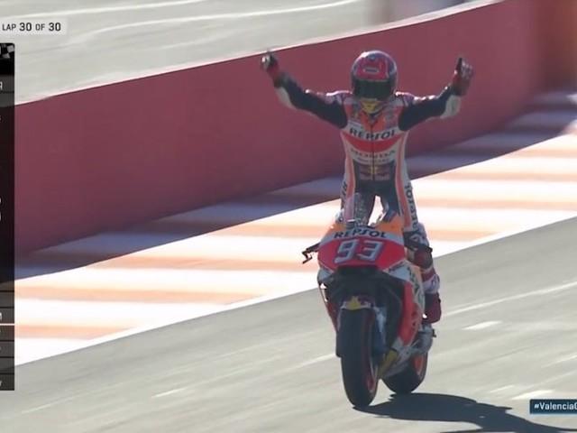 Marquez Crowned 2017 MotoGP World Champion; Pedrosa Wins Valencia GP