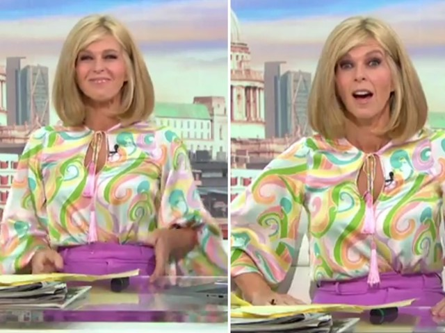 Kate Garraway savagely trolled over GMB outfit by co-presenter Ben Shephard