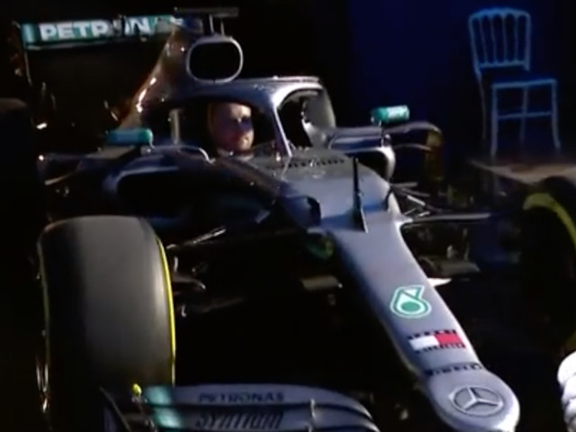 Mercedes Driver Valtteri Bottas Arrives at the FIA Gala in Style