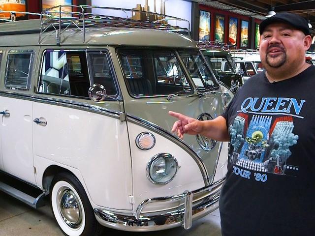 Inside comedian Gabriel 'Fluffy' Iglesias' $3 million Volkswagen bus collection