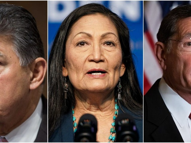 Deb Haaland's past environmental activism promises a confirmation showdown before a panel led by two pro-fossil fuel senators