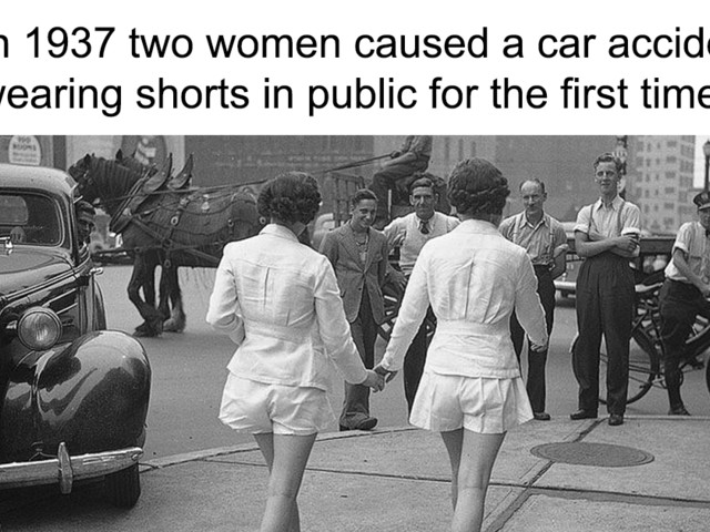 This Post About 'Women Causing A Car Crash' In 1937 Is Proof That You Can't Trust Everything You See On The Internet