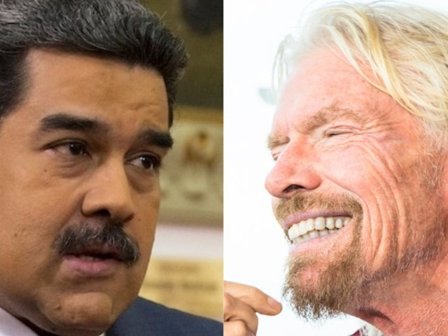 Nicolás Maduro is waging a bizarre contest with Richard Branson to see who can stage the best pop concert — as Venezuela crumbles