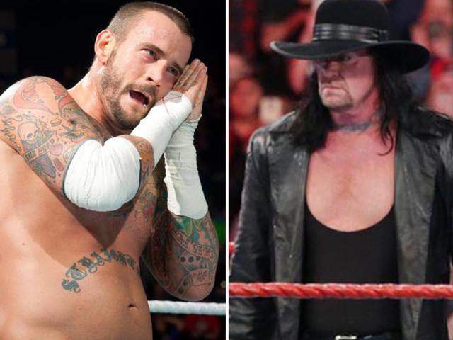 The Undertaker hits out at WWE for getting rid of character – as CM Punk claims there's 'no way' he's really retired
