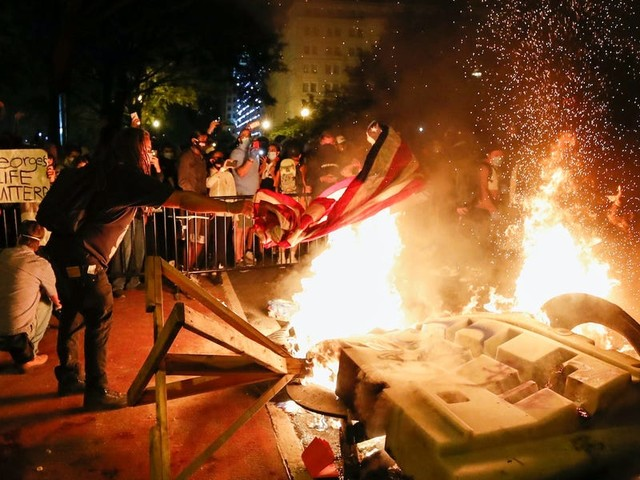 FBI 'has no intelligence' indicating Antifa was linked to weekend violence in the George Floyd protests, despite Trump and Republicans' claims