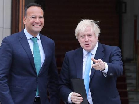 Johnson to hold crunch meeting with Varadkar in bid to save Brexit talks