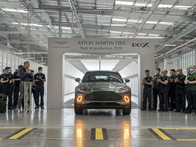 New Aston Martin DBX: vital new SUV enters production