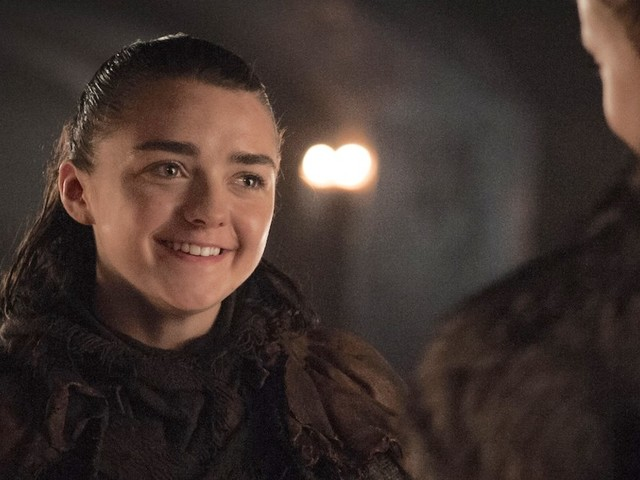 Here's a closer look at the weapon Arya specially requested for the coming battle on 'Game of Thrones'