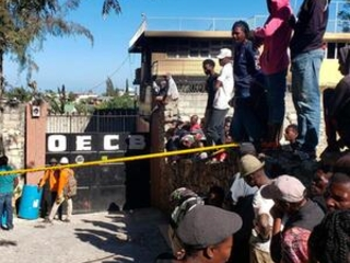 Haiti health workers say 13 children died in residence fire