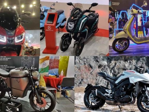 Top 5 Two-Wheelers On Display At The Auto Expo 2020
