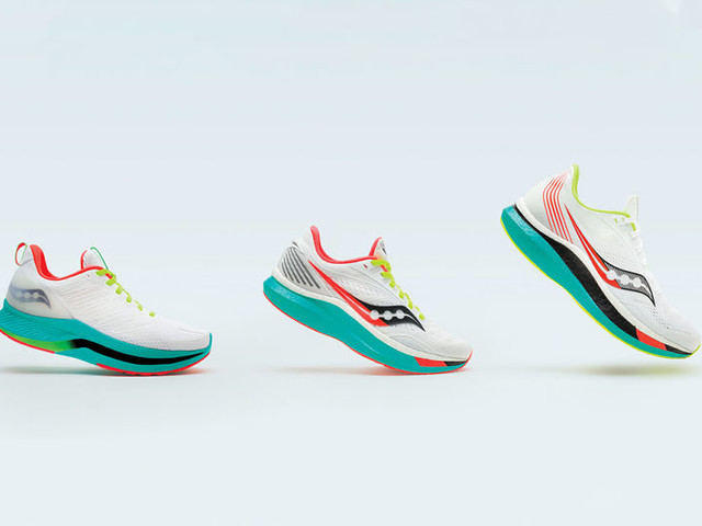 Olympian-Approved Sneakers - The Saucony Endorphin Collection Includes Three Styles (TrendHunter.com)