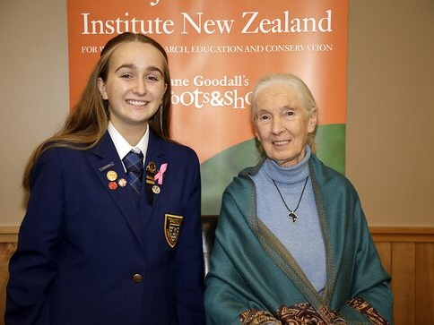 LTTS Special: Dr. Jane Goodall in New Zealand