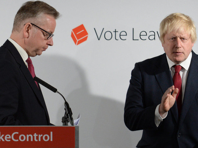 Boris Johnson And Michael Gove 'Penned Secret Brexit Instructions Letter To PM'