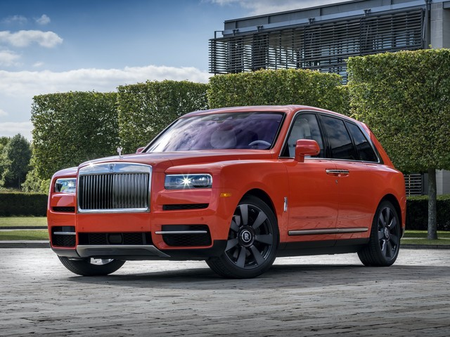 Pebble Beach 2019: Rolls-Royce Cullinan in Fux Orange