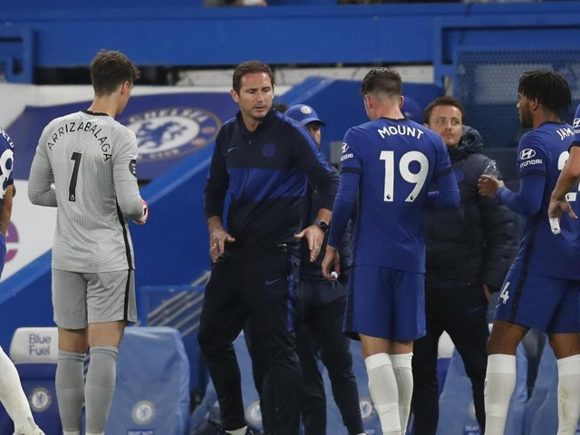 Lampard tells Chelsea to embrace Champions League pressure
