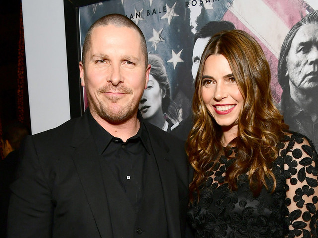 Christian Bale Premieres 'Hostiles' with Wife Sibi by His Side!