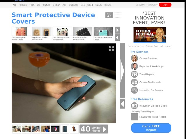 Smart Protective Device Covers - The Twelve South SurfacePad iPhone Cover is Demure and Functional (TrendHunter.com)