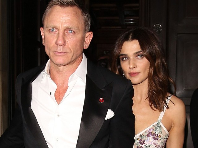 Daniel Craig & Wife Rachel Weisz Photographed Together For First Time In Two Years