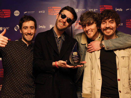 Choice Music Awards: This band made the best album in Ireland last year