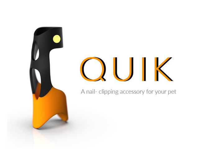 Illuminating Canine Nail Clippers - The Conceptual 'Quik' Dog Nail Clipper Streamlines Pet Care (TrendHunter.com)