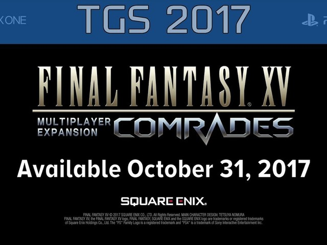 Final Fantasy XV Multiplayer Expansion Launches on Halloween