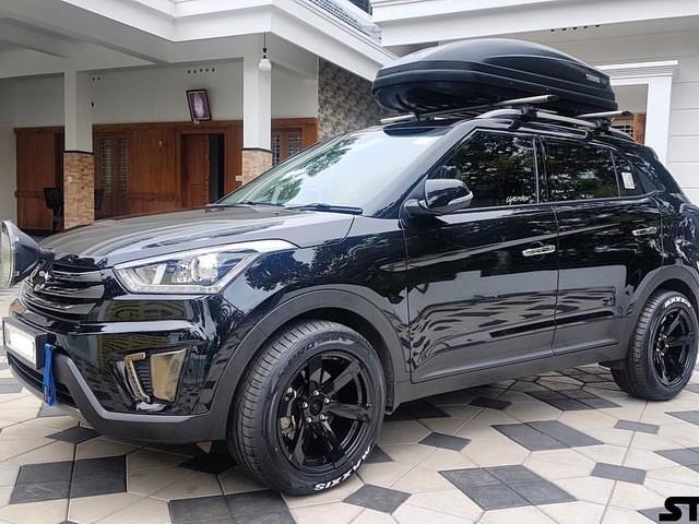 Custom Hyundai Creta diesel with stealth exterior – In Images