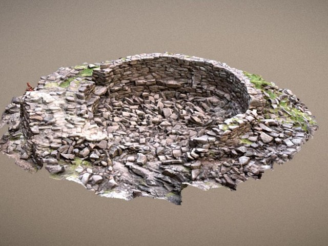 Iron Age ruins in Assynt recreated in 3D