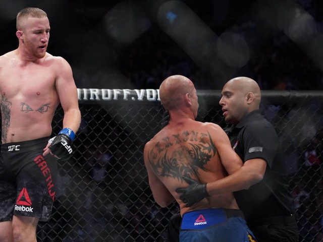Justin Gaethje destroyed Donald 'Cowboy' Cerrone in a single round, then said he'd 'f--- up' Conor McGregor