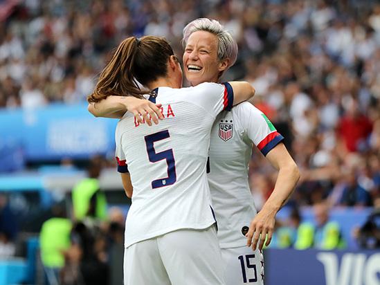 USA-France Women's World Cup Quarterfinal Match Draws Over 6 Million Viewers on Fox